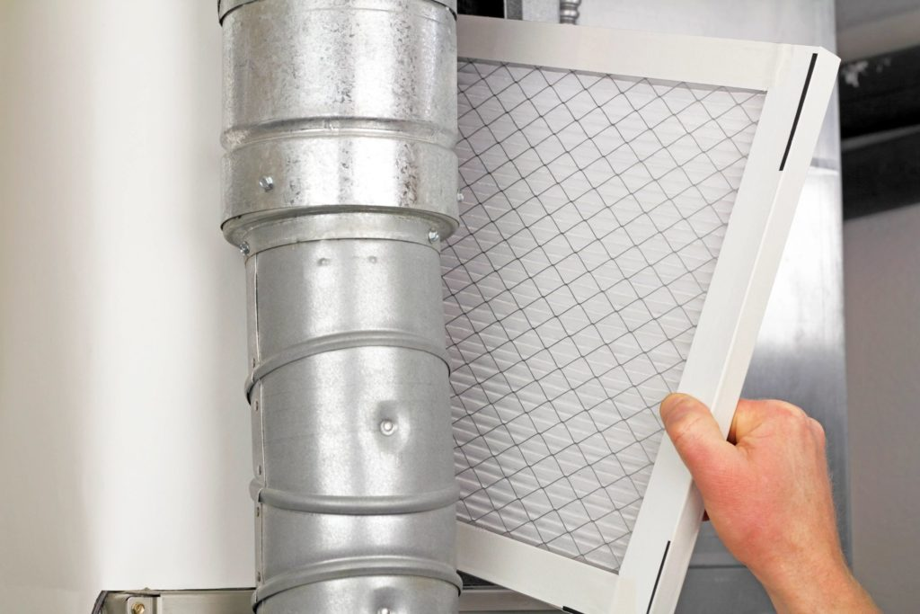 gas furnace terms air filter